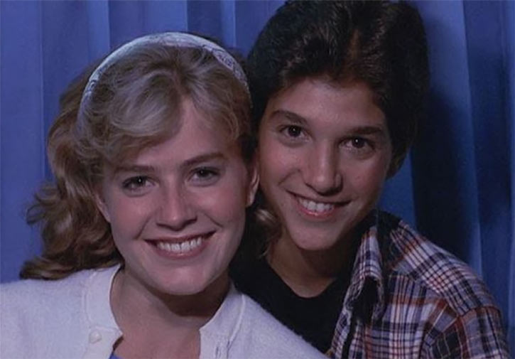 Karate Kid Daniel LaRusso - 1980s movies - Ralph Macchio - with Ali
