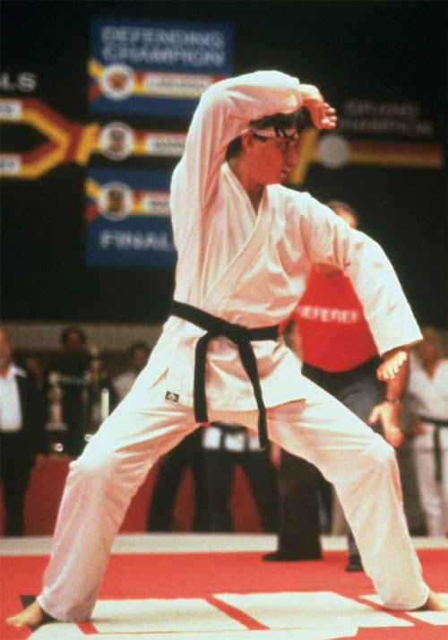 Karate Kid Daniel LaRusso - 1980s movies - Ralph Macchio