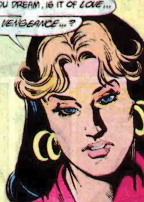 Kari Limbo (Green Lantern character) (DC Comics) looking dubious