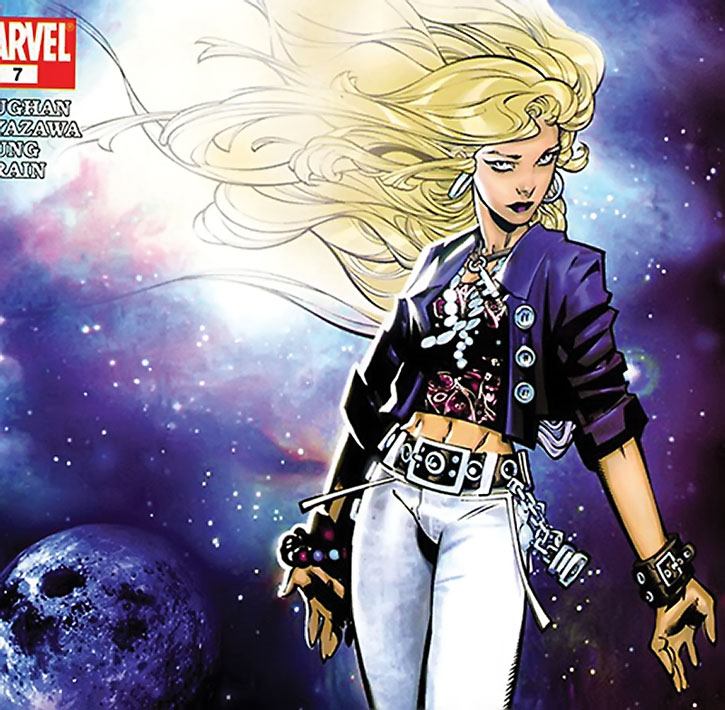 Karolina Dean (Lucy in the Sky) cover art by Bachalo