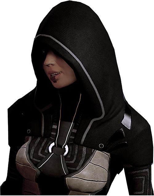 Kasumi Goto (Mass Effect) talking