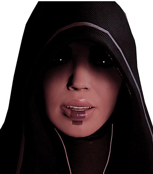 Kasumi Goto (Mass Effect) surprised face