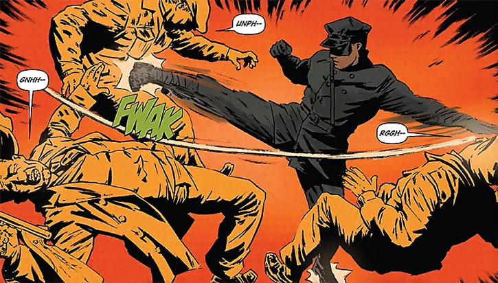 Kato fights mobsters
