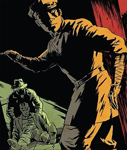 Kato (Green Hornet Dynamite Comics Wagner) in the dark