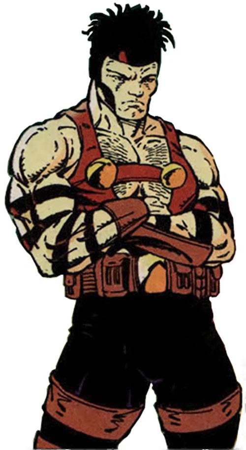 Kayo (Brigade comics) older drawing on white background