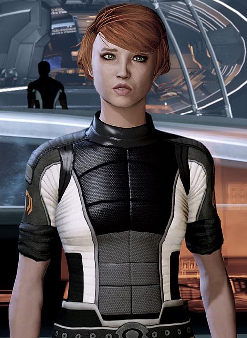 Kelly Chambers (Mass Effect) fish mouting