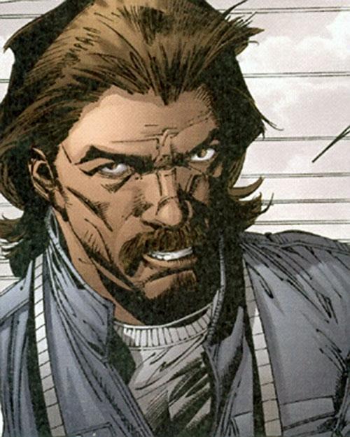 Khalid Tefibi of Stormwatch Team Achilles (Wildstorm Comics) portrait