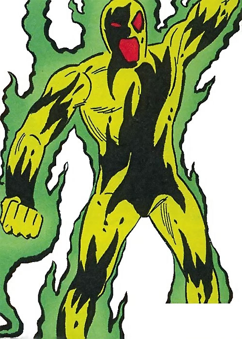 Khaos (Shade the Changing Man enemy) (DC Comics Ditko)