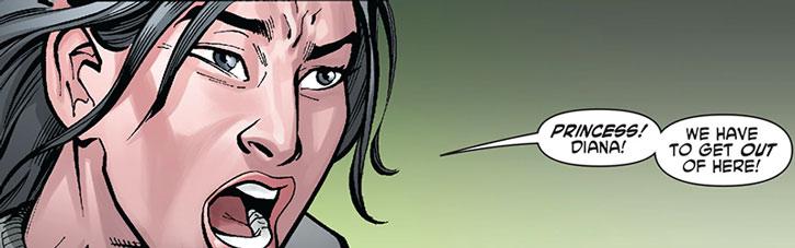 Kho alerts Wonder Woman