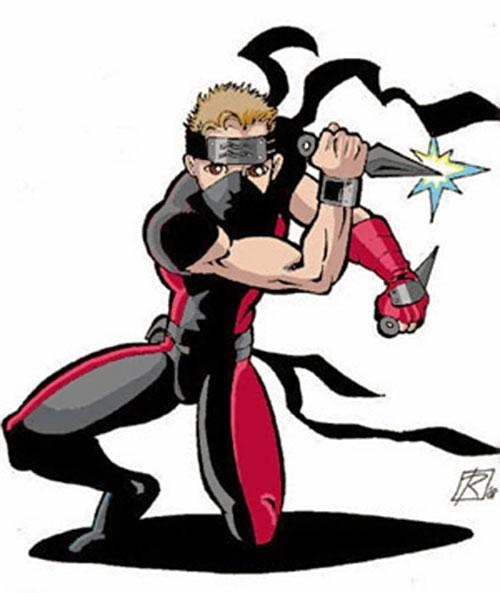 Kihei Soge (DC Heroes RPG) dual-wielding daggers