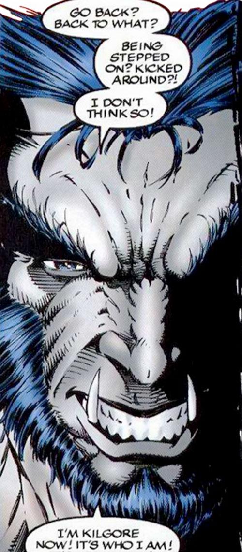 Kilgore (Image Comics) face closeup