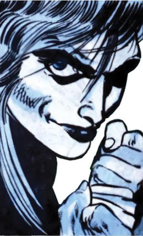 Killer Frost (Firestorm enemy) (DC Comics) (Lincoln) smirking face closeup
