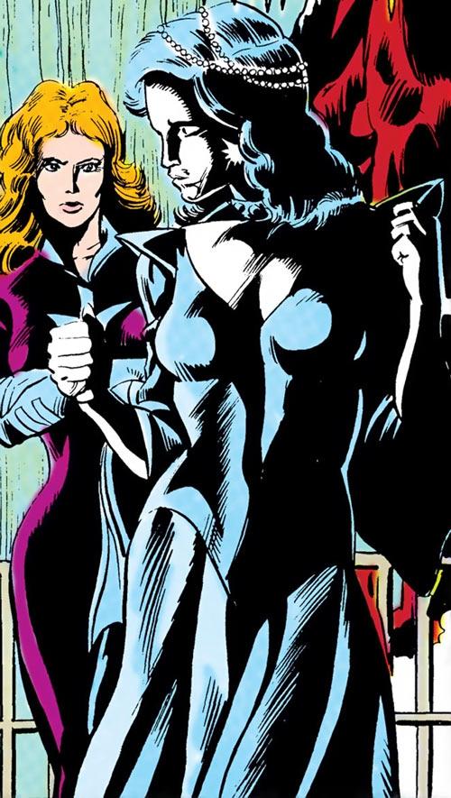 Killer Frost (Firestorm enemy) (DC Comics) (Lincoln) and Plastique