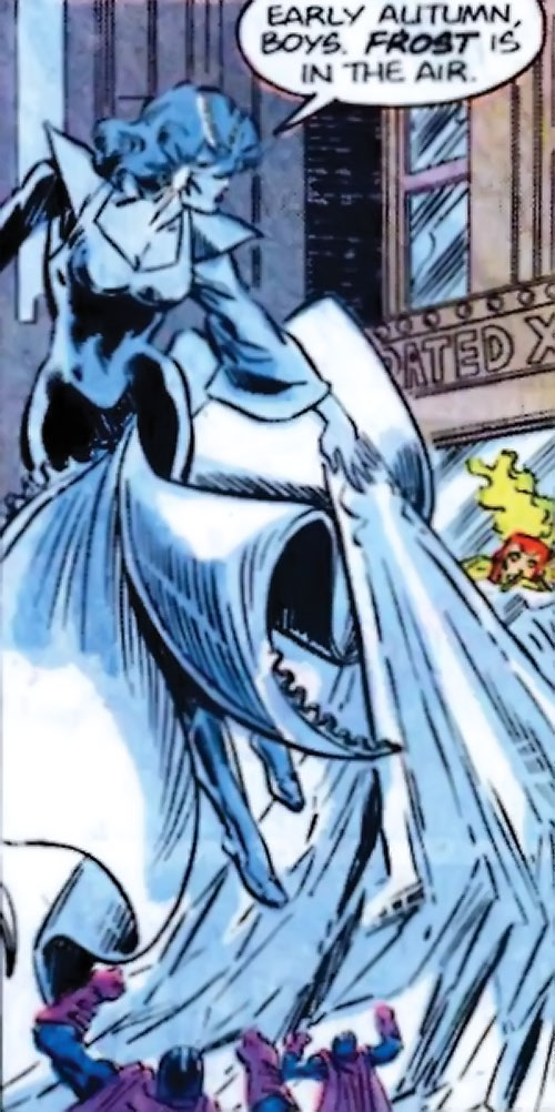 Killer Frost (Firestorm enemy) (DC Comics) (Lincoln) with Multiplex and Firestorm