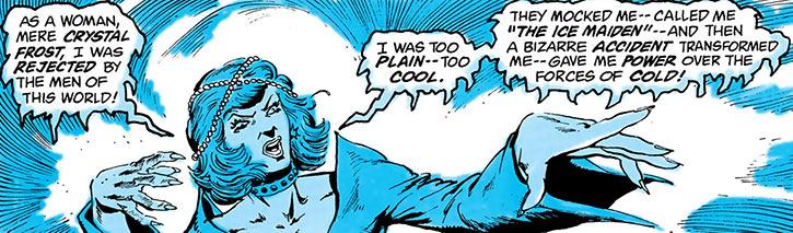 Killer Frost (Crystal Frost) ranting