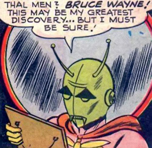 Killer Moth (Bob Kane Batman enemy) (DC Comics) planning