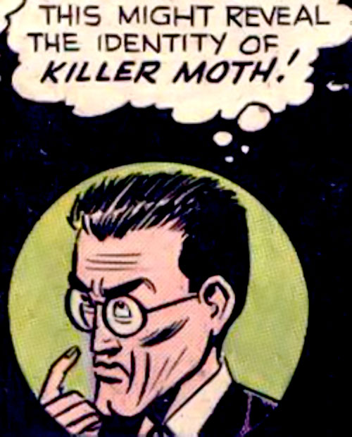 Killer Moth (Bob Kane Batman enemy) (DC Comics) as Cameron van Cleer