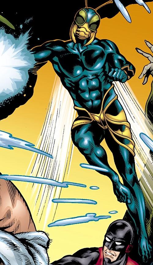 Killer Wasp of the Injustice Society (JSA enemy) (DC Comics)