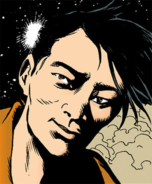 King Tiger (Dark Horse comics) smiling