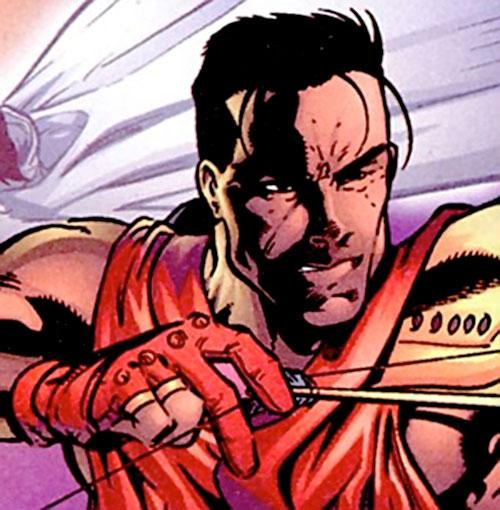 King Tiger (Dark Horse comics) aiming an arrow