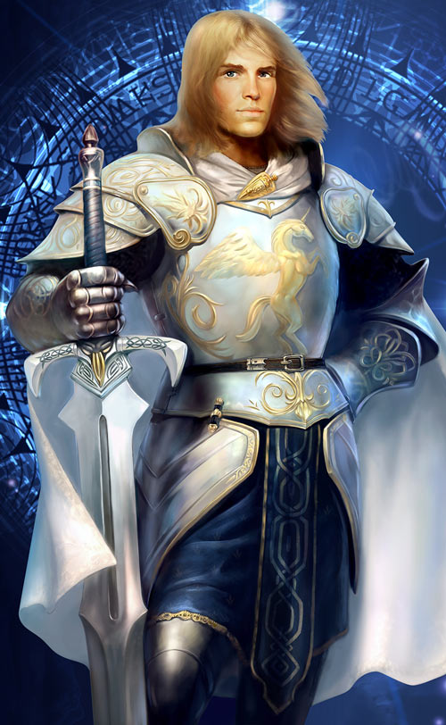 King's Bounty Legends - Paladin Player Character