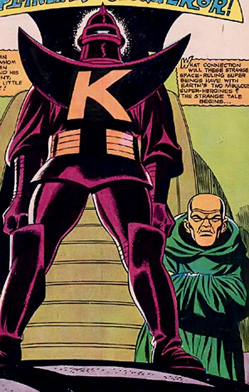 Klamos and Grok (Wonder Woman enemies) (DC Comics)