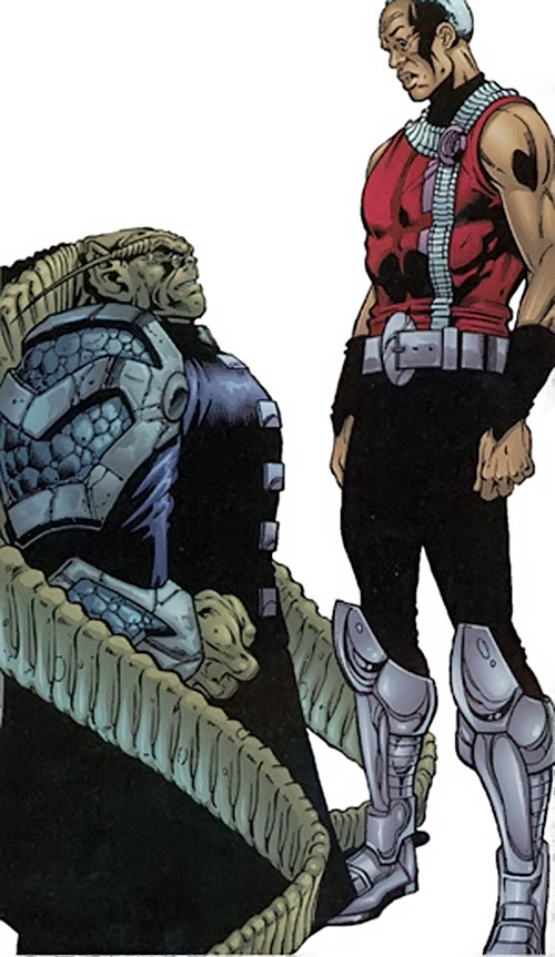 Komptin (Negation Crossgen comics) and Kaine