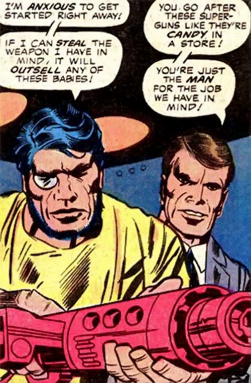 Konik (Machine Man enemy) (Marvel Comics)