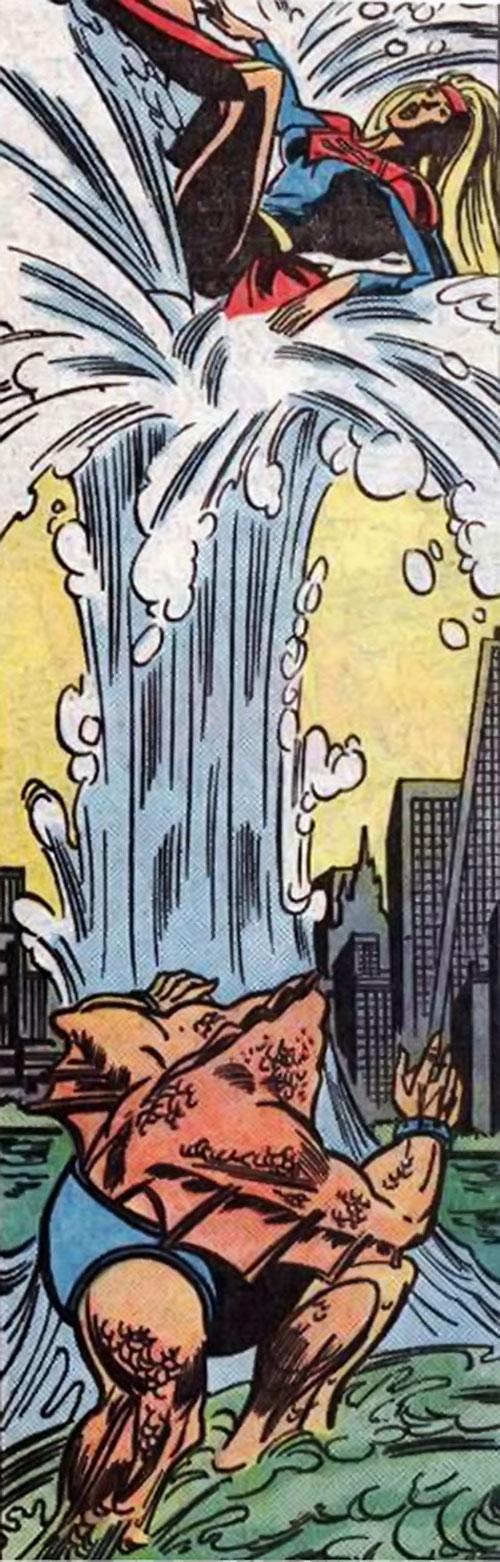 Kraken vs. Supergirl (DC Comics)