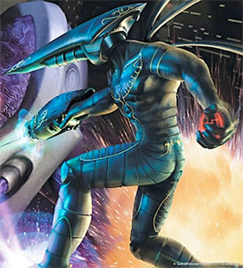Kurt Hectic (MDK video games) cover art