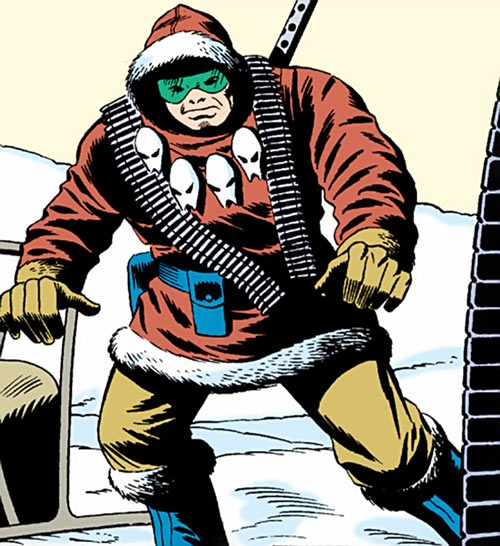 Kwinn the Eskimo - GI Joe - Marvel Comics - Winter gear
