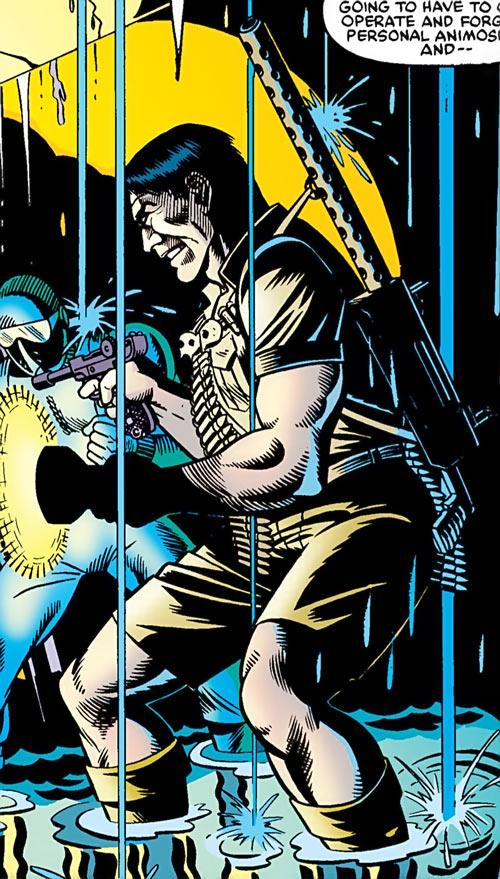 Kwinn the Eskimo - GI Joe - Marvel Comics - Underwater bunker