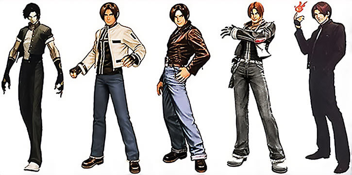 Kyo's outfits gallery