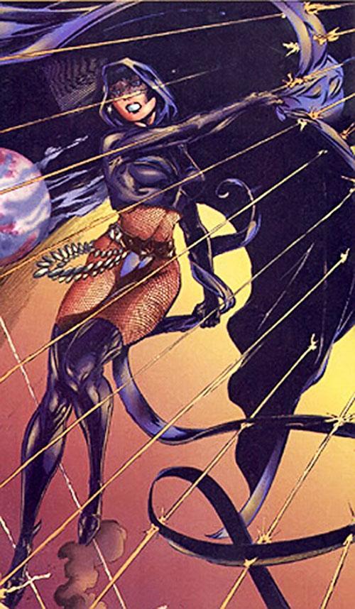 Lady Killer (Ultraverse Malibu comics) under fire