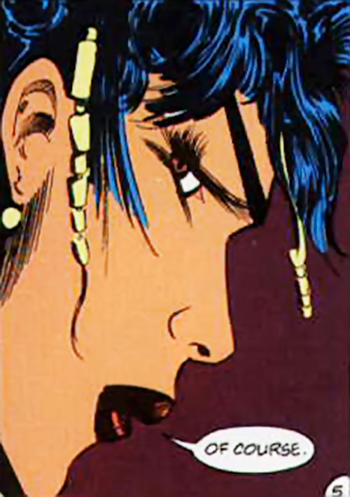 Lady Shiva (The Question) looking tough