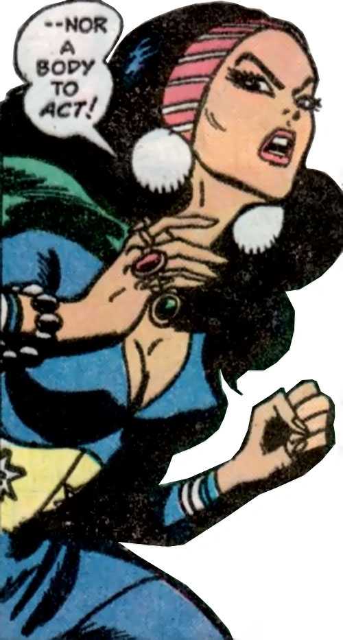 Lady Shiva (Richard Dragon early version) (DC Comics) ready for action