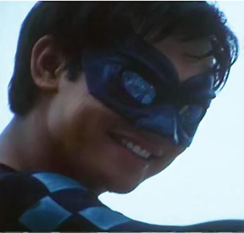 Lastikman (Mark Bautista version) smiling face closeup