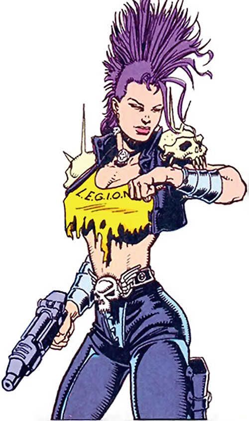 Layla of LEGION (DC Comics Bloodlines)
