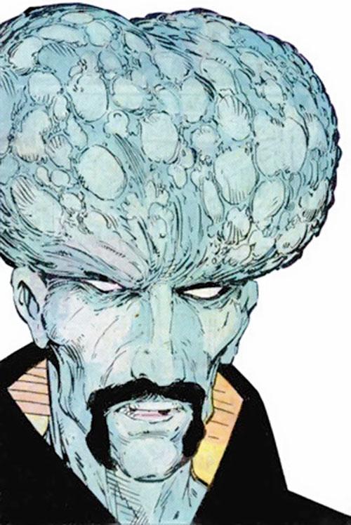 The Leader (Hulk enemy) (Marvel Comics) with the broccoli head