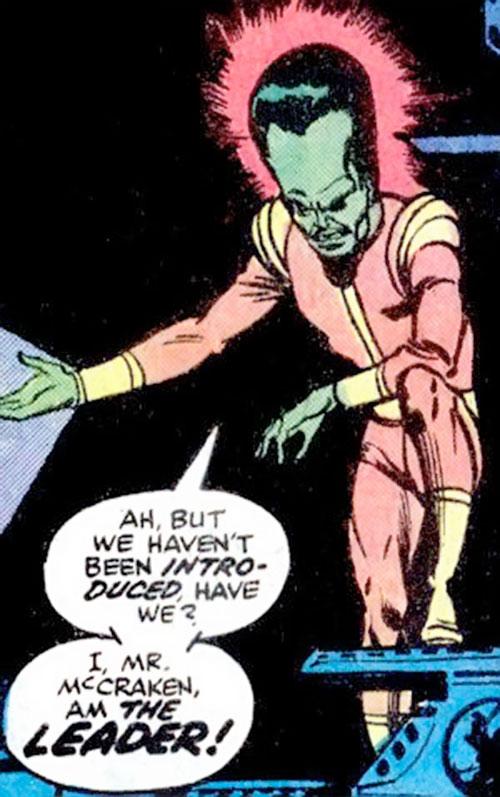 The Leader (Hulk enemy) (Marvel Comics) in darkness