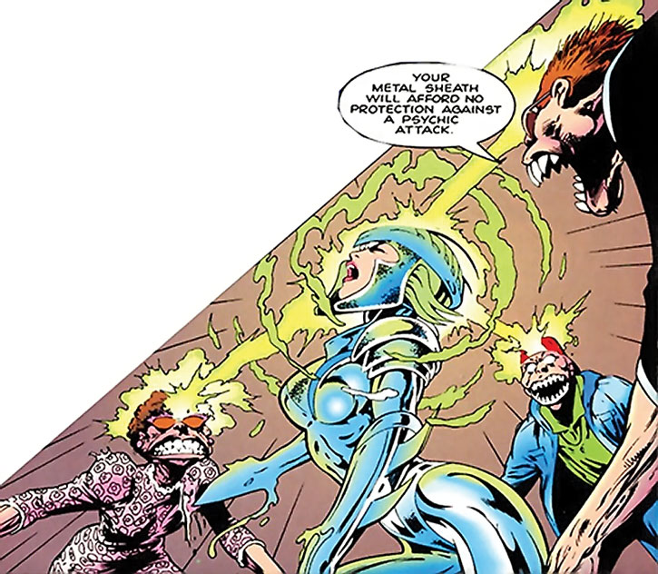 Lenz - Marvel Comics - Clan Destine enemy - Writeups.org