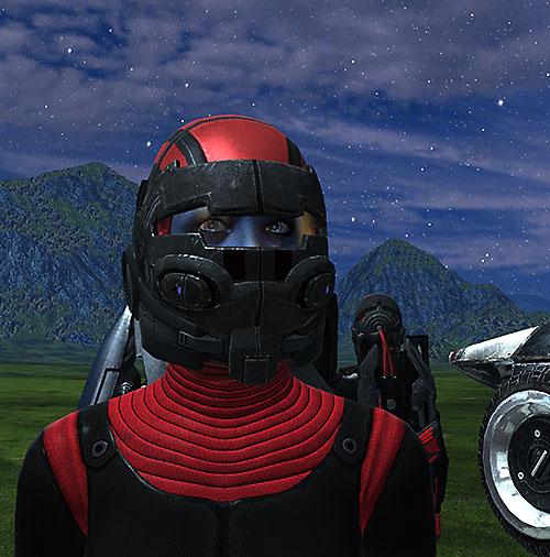 Liara T'Soni (Mass Effect) hardsuit full helmet