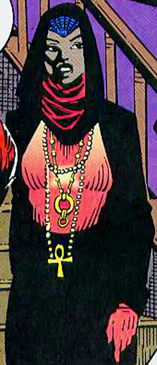 Lightbright of the Intruders (Silver Sable ally) (Marvel Comics) in formal wear