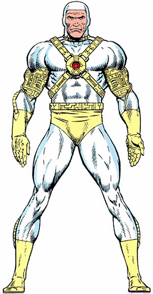Lightmaster (Marvel Comics) with the white costume