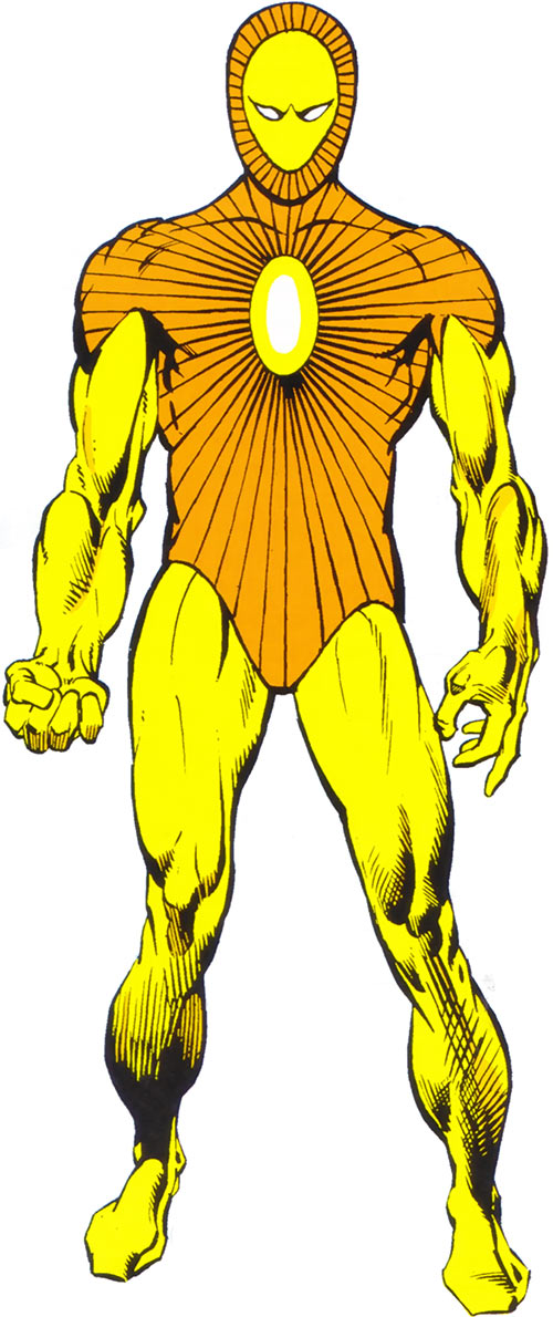 Lightmaster (Marvel Comics) with the yellow costume