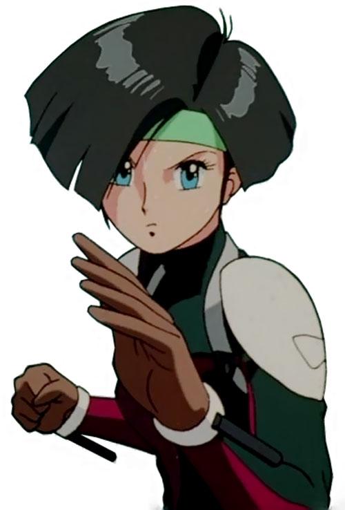 Linna Yamazaki of the Knight Sabres (Bubblegum Crisis)