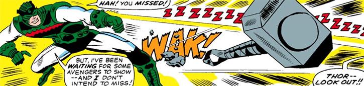 The Living Laser vs. Thor