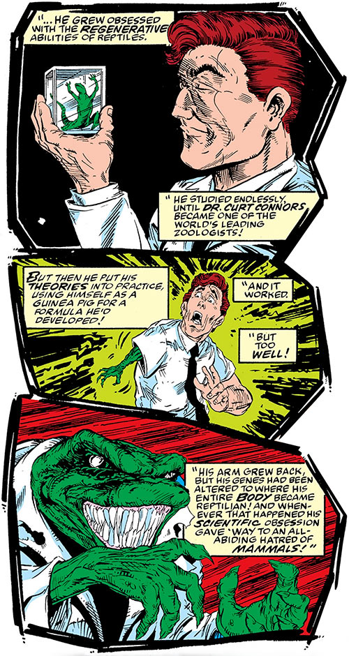 Lizard (Spider-Man enemy) story recap