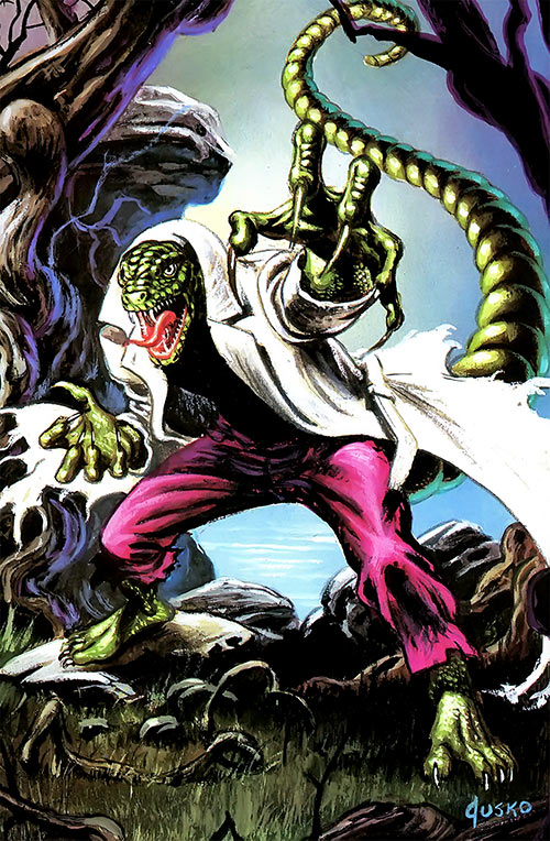 Lizard (Spider-Man enemy) by Joe Jusko