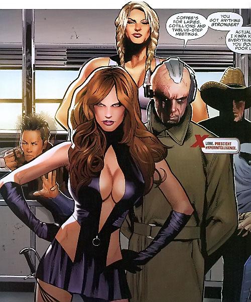 Lobe (X-Men enemy) (Marvel Comics) with his team